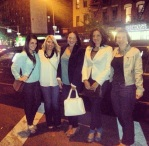 ladies outside empellon