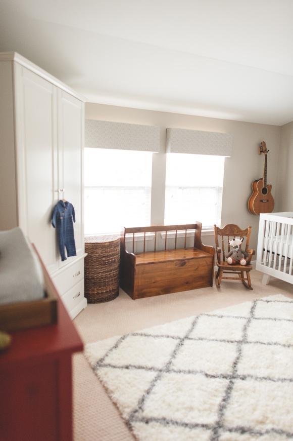 modern vintage nursery